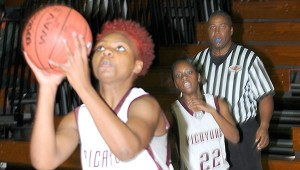 BOARD BUSTER: Picayune's Tearrah Harris and her Lady Tide teammates are coming off of a big win over Stone County on Friday night. Photo by Curtis Rockwell