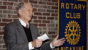 Jodi Marze | Picayune Item Note Worthy: Dr. William Lewis, President of PRCC, spoke at Picayune Rotary Club on Tuesday.