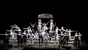 SHOWTIME: Central Attraction from Pearl River Central High School were division winners and second runner up for Grand Champion at the Mississippi Showchoir Contest recently at PRCC. PRCC Public Relations Photo