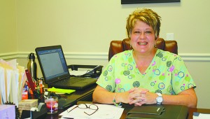 ISSUES AN INVITATION: Jamye Martin, CEO of Manna Ministries, says she want to make a difference for Pearl River County and Mississippi and invites the public to take part in the non-profit agency's Heart 2 Heart initiative to improve cardiovascular health in the area.  Photo by Will Sullivan