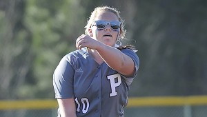 HIGH AND DRY: Picayune freshman pitcher Elizabeth Taggard and her Lady Tide teammates will see plenty of action over the next two days. Photo by John Young