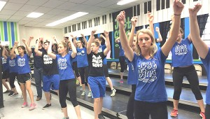 PRACTICE MAKES PERFECT: Pearl River Central High School show choir Central Attraction practice on Thursday afternoon for their upcoming spring show at the Brownstone Center for Arts.  Photo submitted