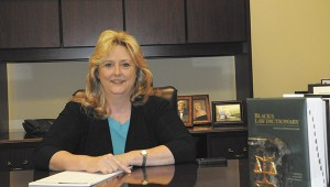 HONORABLE WOMAN: The Honorable Richelle Lumpkin, the county youth court judge, is the only woman judge in Pearl River County.
