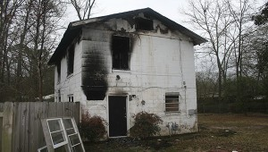 Two 15-year-old male juveniles have been charged with the alleged arson of this apartment building off of Mitchell Street, along with the fire at Friendship Park's gazebo and a dumpster behind Regions Bank on U.S. 11.