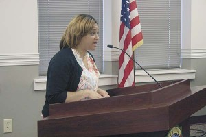 Tanika Richardson with Liberty Restoration spoke to Picayune's council Tuesday about a program they feel can help veterans and senior citizens who needs housing repairs.