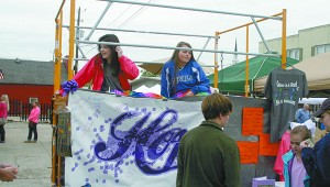 PRC students braved the elements to raise funds and awareness for Relay for Life. All proceeds were donated through to the American Cancer Society through the PRC High School Relay for Life Team. Jeremy Pittari | Picayune Item