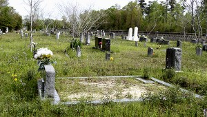 FAMILY TREASURES: Turtleskin Cemetery is the final resting place for many of Pearl River County's oldest families. The cemetery was established prior to the existence of Pearl River County. Jodi Marze | Picayune Item